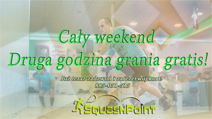 Miniatura wydarzenia - Cały weekend druga godzina grania gratis!